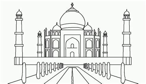 gambar mewarnai masjid kreasi warna