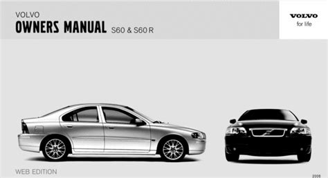 download 2008 volvo s60 owner s manual pdf 230 pages 06 volvo s60 2006 owners manual download manuals technical