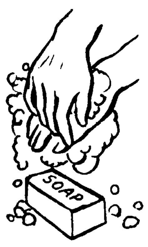 coloring page for washing hands hand washing coloring page coloring home