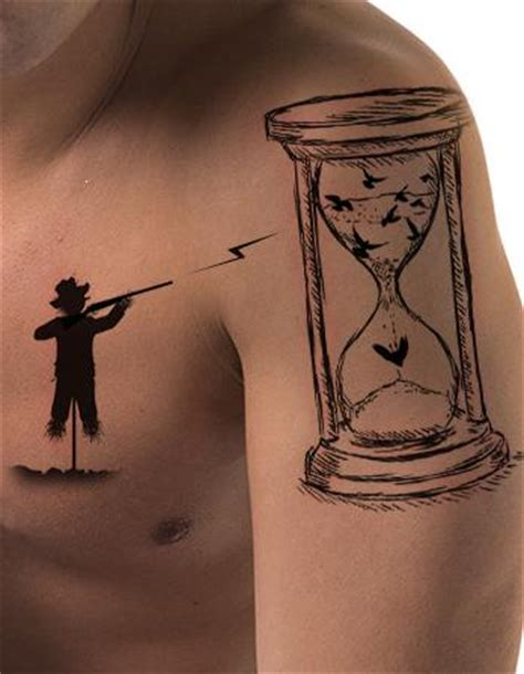 important meanings behind the hourglass tattoo tattoos win