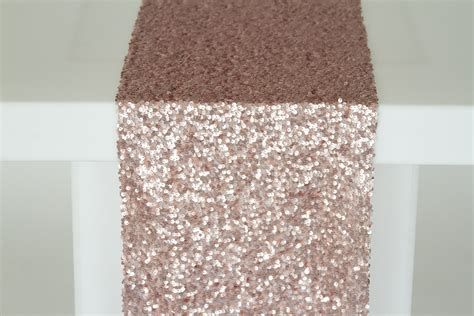blush sequin table runner blush sequin taffeta runner n 252 age designs