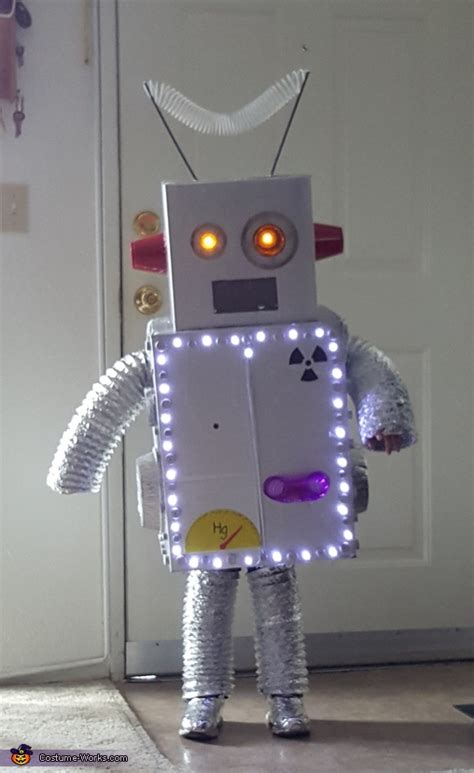 robot boys halloween costume