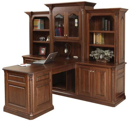 partner desk with hutch amish partner desk with hutch
