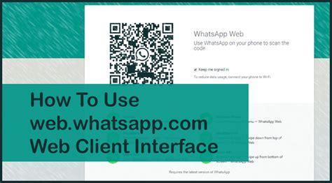 tutorial whatsapp ppt web whatsapp com web app interface for whatsapp on pc