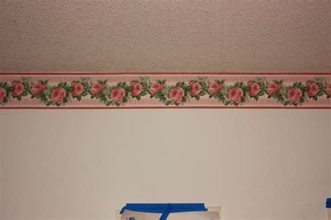 Wallpaper Borders For Living Room | extreme makeover flowers edition living room ceiling