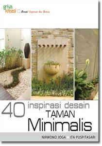 inspirasi membuat novel buku 40 inspirasi taman desain minimalis griya kreasi