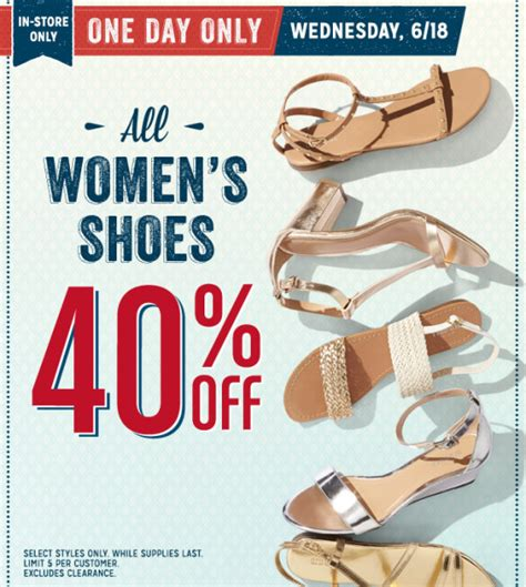 old navy coupons shoes old navy 40 off women s shoes today only