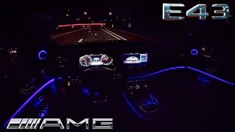 2017 mercedes e class interior lighting mercedes e class 2017 e43 amg drive interior