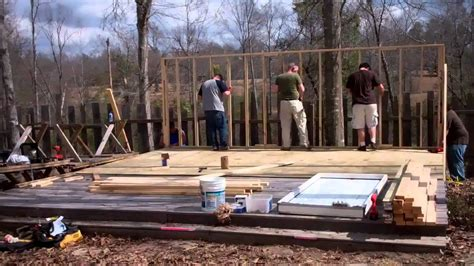 How To Build A Small Home by Building A Small Quot Vacation Quot House In 2 Days Right