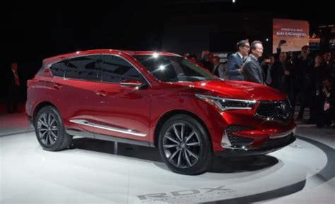 2020 Acura Rdx by 2020 Acura Rdx Interior Release Date Price Acura Specs
