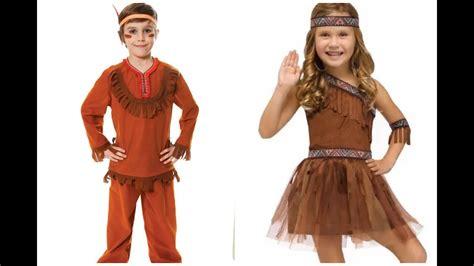 trajes de indio de material de desecho los mas creativos disfraces de indios para ni 241 os youtube