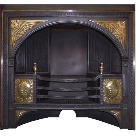 Century Fireplace Inserts by 19th Century Georgian Hob Grate Brass Cast Iron