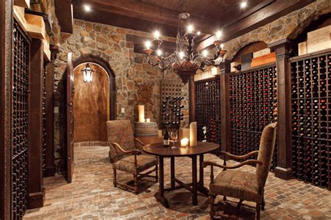 Tuscan Style Dining Room Furniture by Our French Inspired Home Old World Rustic Wine Cellars