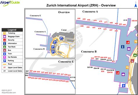zurich airport terminal layout airport maps charts diagrams z 252 rich airport lszh