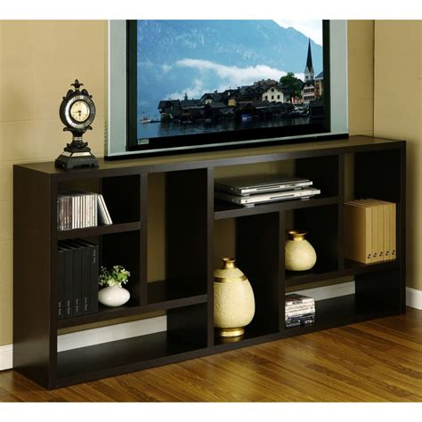 tv cabinet with bookshelves 1000 ideas about narrow tv stand on ashleys