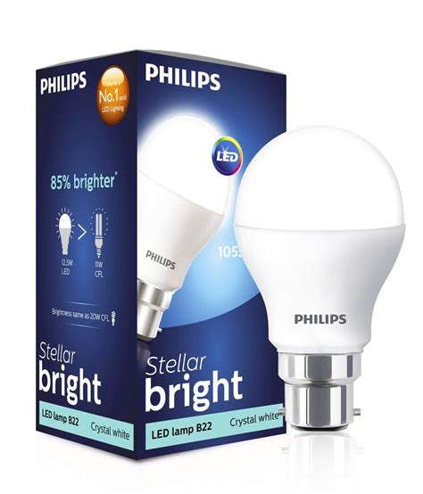Lu Led Philips 30 Watt philips white 12 5 watt led bulb best price in india on
