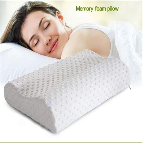Orthopedic Pillows Neck by Orthopedic Neck Pillow Fiber Rebound Memory Foam