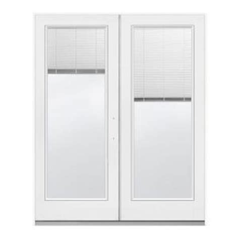 Patio Door Blinds At Home Depot by Jeld Wen 72 In X 80 In White Left Inswing