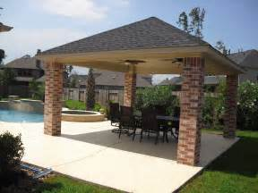 pool gazebo plans free standing patio covers gazebos and pool cabanas