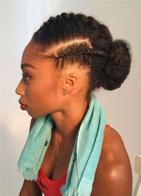 Sports Hairstyles by Top 40 Best Sporty Hairstyles For Workout Fashionisers