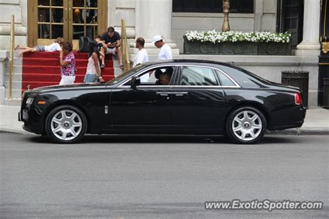 rolls royce ghost spotted in manhattan new york on 08 12 2011