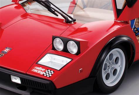 Build A Lamborghini Model Build The Lamborghini Countach Lp500s 1 8 Car Scale