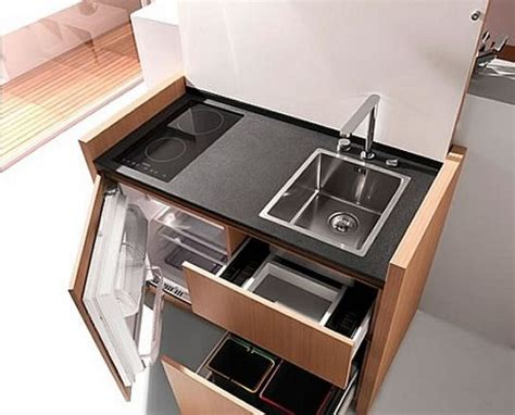 compact kitchen design solution for your small house