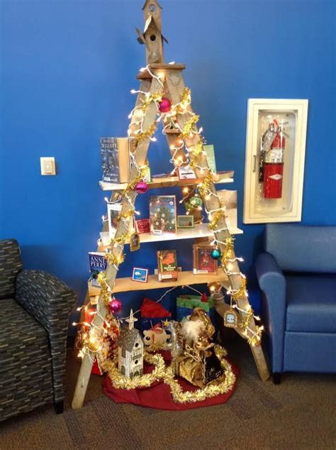 210 best library display ideas for christmas images on