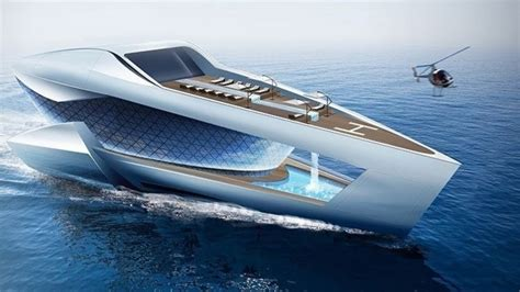 square boat future luxury yachts you must see youtube