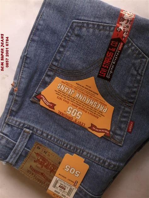 Harga Celana Levis Yang Asli celana levi s 505 kw import asli exle best theme