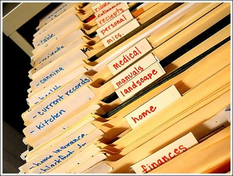 my organized files andrea dekker