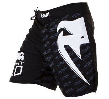 Venum Wand Fightshorts White grappling shorts 5 fight times martial arts new zealand