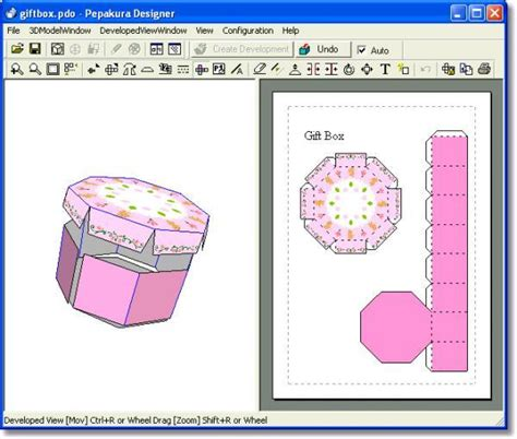 Paper Folding Software - pepakura designer