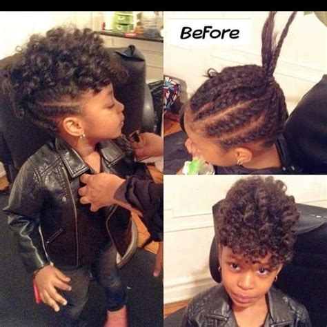 natural neck length hairstyles for african american women 17 best images about ethnic hairstyles for little girls on
