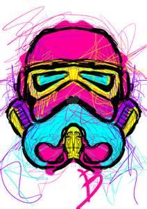 pop art stormtrooper mattymono deviantart