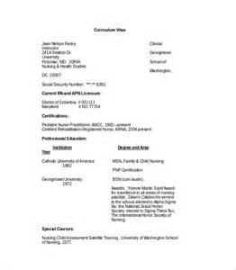 Resume Undergraduate by Sample Cv Template 8 Download Free Douments In Pdf Word