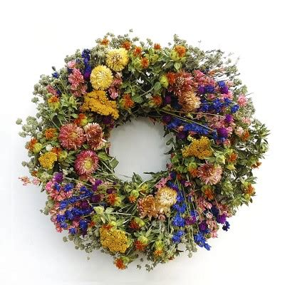 garden wreath williams sonoma