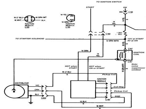 hei ignition module 5 pin wiring diagram wiring forums