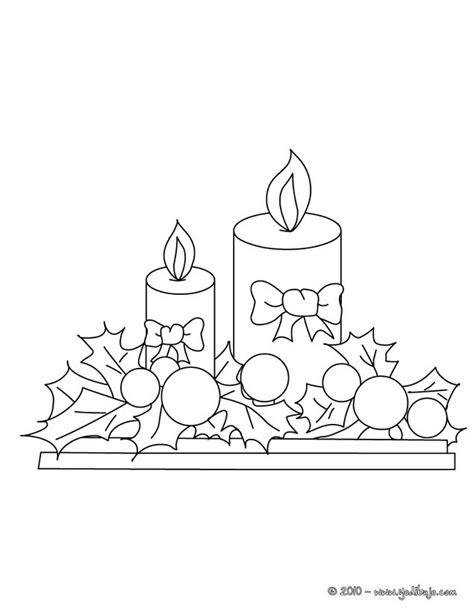 imagenes de velas navideñas para dibujar dibujos para colorear velas navide 241 as es hellokids com