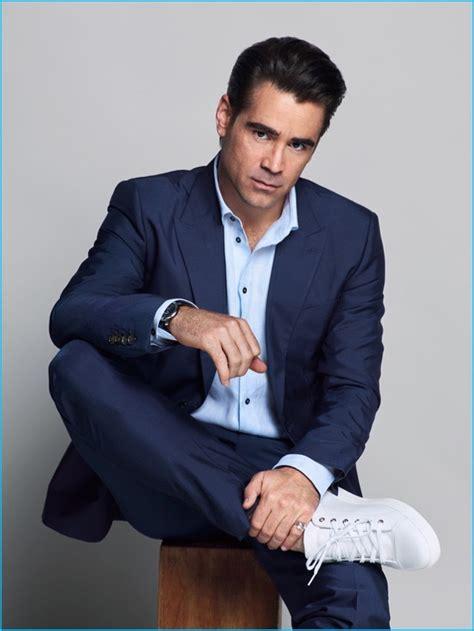 navy suit light blue shirt navy suit shoes gq style guru fashion glitz