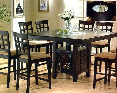 tall dining room sets counter height dining room set co 100438s