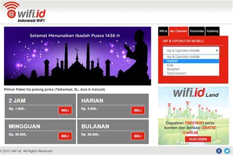 Wifi Nusanet cara mudah login wifi id gratis