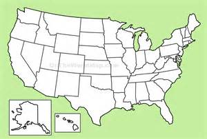 blank us map with state boundaries usa blank map