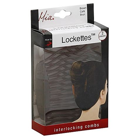 lockettes interlocking combs mia hair accessories buy mia lockettes 2 piece interlocking hair combs from bed