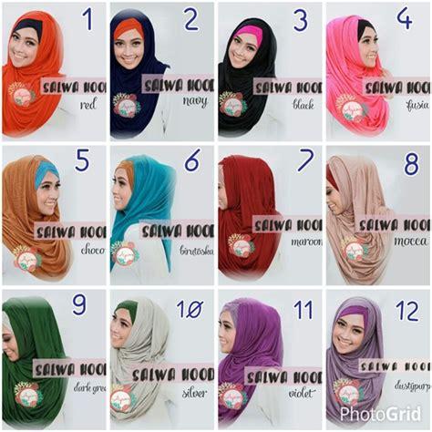 Pakaian Wanita Aksesoris Jilbab Instan Hoodie Tasya model jilbab instan salwa hoodie premium terbaru bundaku net