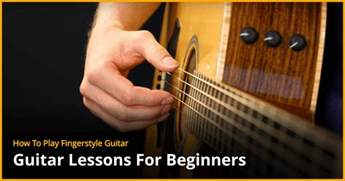 Guitar Lessons How To Play Fingerstyle Guitar Guitar Lesson