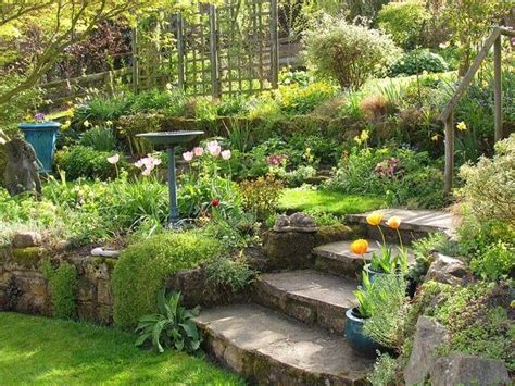 Garden Terracing Ideas Terraced Garden Ideas Gardening Pinterest