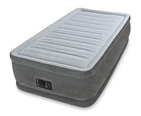 twin size air bed mattress   built  electric pump