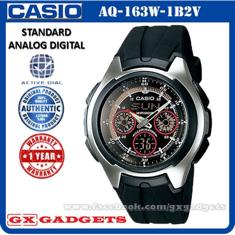 Casio Aq 163w 1b2v Original casio aq 163w 1b2v standard analog d end 3 11 2018 8 26 am