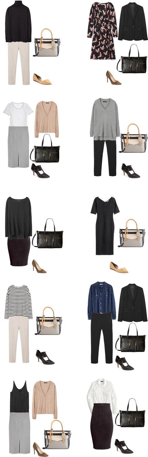 Basic Work Wardrobe by Basic Work Capsule Wardrobe 40 Ideas Livelovesara